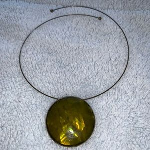 Jewelry - 2/$15 peridot green choker
